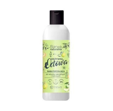 Barwa Naturalna octowa odżywka nabłyszczająca do włosów naturalnych i matowych (200 ml)