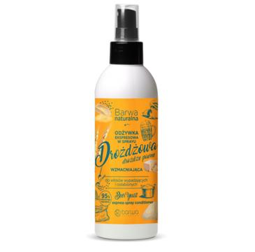 Barwa Naturalna Ekspresowa odżywka drożdżowa w sprayu (200 ml)