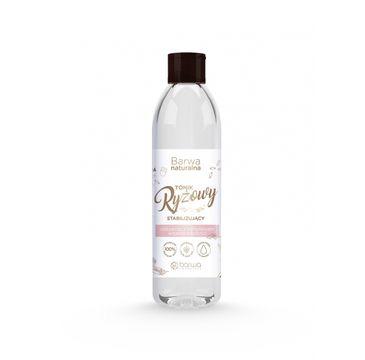 BARWA Naturalna Tonik Ryżowy do twarzy stabilizujący-każdy rodzaj cery 300 ml