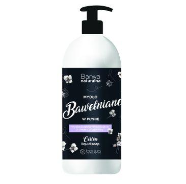 Barwa – Naturalne mydło w płynie Bawełniane (500 ml)