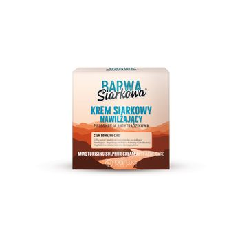 BARWA Siarkowa Krem siarkowy długotrwale nawilżający - cera tłusta  50ml