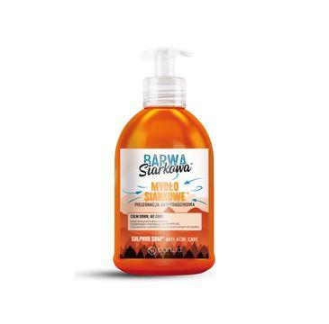 BARWA Siarkowa Mydło w płynie siarkowe antytrądzikowe (300 ml)