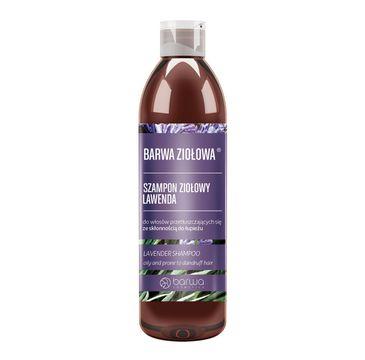 BARWA Ziołowa Szampon do włosów Lawenda włosy przetłuszczające się i z łupieżem (250 ml)