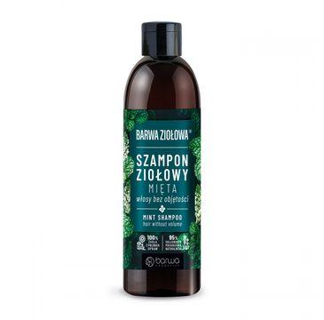 Barwa Ziołowa Szampon do włosów Mięta - włosy bez objętości (250 ml)