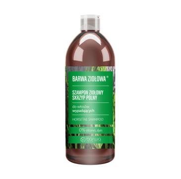 Barwa Ziołowa szampon ziołowy do włosów wypadających Skrzyp Polny (480 ml)