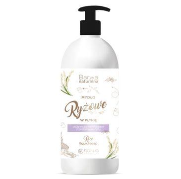 Barwa – Naturalne mydło Ryżowe w płynie (500 ml)