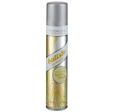 Batiste – Suchy szampon do włosów Light & Blonde (200 ml)