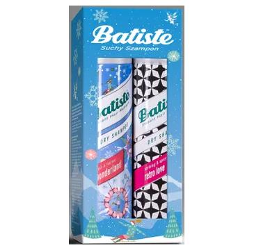 Batiste Zestaw suchych szamponów Retro&Wonderland (2 x 200 ml)
