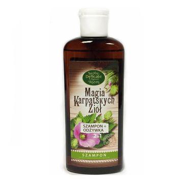 Delicate Organic Magia Karpackich Ziół szampon do wszystkich rodzajów włosów 250g