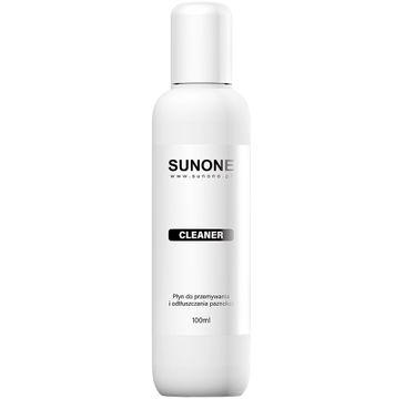 Sunone – Cleaner płyn do przemywania i odtłuszczania paznokci (100 ml)