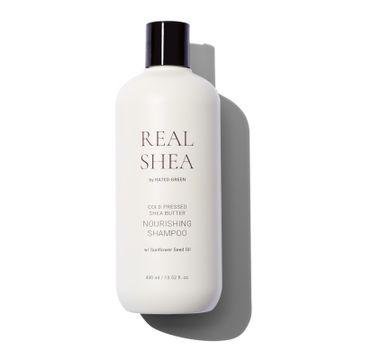 Rated Green – Odżywczy szampon do włosów Real Shea (400 ml)