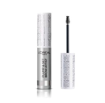 L'Oreal Paris Brow Artist Plump & Set – tusz do brwi Transparent (4.9 ml)