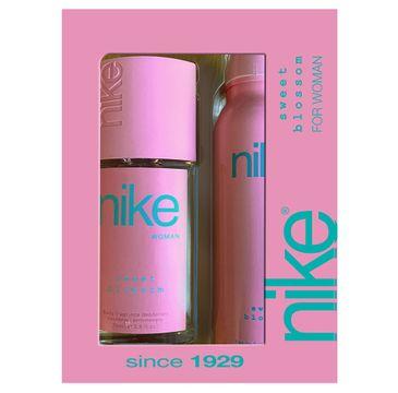 Nike – Zestaw prezentowy Sweet Blossom for woman dezodorant w szkle 75ml+dezodorant spray 200ml (1 szt.)