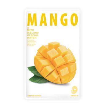 Blue Dot – Odświeżająca maseczka w płacie Mango Mask A With Iceland Glacial Water ( 20 g)