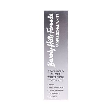 Beverly Hills – Professional White Advanced Silver Whitening wybielająca pasta do zębów z cząsteczkami srebra (100 ml)