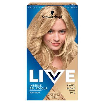 Schwarzkopf – Live Intense Gel Colour koloryzacja do włosów w żelu 10.0 Angel Blonde (1 szt.)