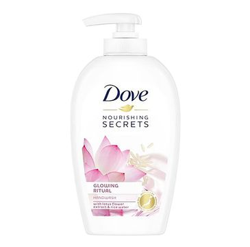Dove – Nourishing Secrets Glowing Ritual Lotus Flower Extract & Rice Water mydło do rąk w płynie (250 ml)