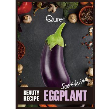 Quret – Beauty Recipe Mask Soothing kojąca maska w płachcie Bakłażan (25 g)