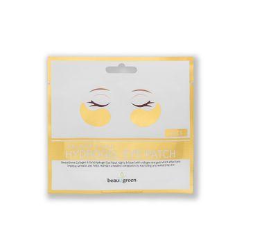BeauuGreen – Hydrożelowe płatki pod oczy z kolagenem i złotem Collagen & Gold Hydrogel Eye Patch (2 szt.)