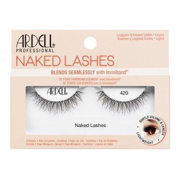 Ardell – Naked Lashes para sztucznych rzęs 420 Black (1 para)