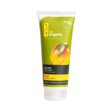 Be Organic Nutritive Body Balm balsam do ciała Mango & Masło Shea 200ml