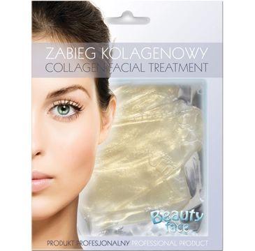 Beauty Face Collagen Facial Treatment rozświetlający zabieg kolagenowy z diamentami i złotem