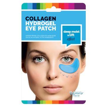Beauty Face Collagen Hydrogel Eye Patch ujędrniające płatki hydrożelowe pod oczy z algami