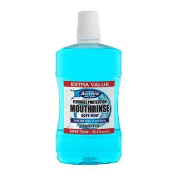 Beauty Formulas Active Alcohol Free Mounthwash płyn do płukania jamy ustnej bez alkoholu (750 ml)