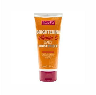 Beauty Formulas – Brightening Vitamin C rozjaśniająco-nawilżający krem do twarzy z witaminą C (100 ml)