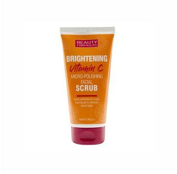Beauty Formulas – Brightening Vitamin C rozjaśniający peeling do twarzy z witaminą C (150 ml)