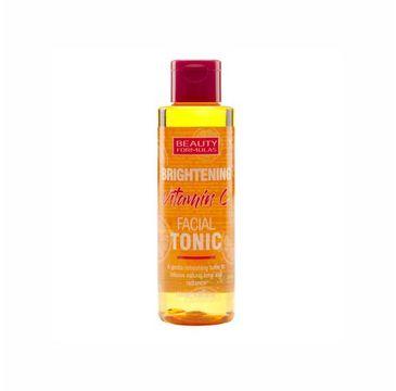 Beauty Formulas – Brightening Vitamin C tonik rozjaśniający do twarzy z witaminą C (150 ml)