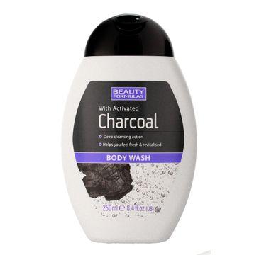 Beauty Formulas Charcoal żel do mycia ciała z aktywnym węglem 250 ml