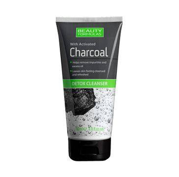 Beauty Formulas Charcoal żel do twarzy detoksykujący głęboko oczyszczający z aktywnym węglem 150 ml