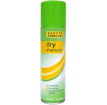 Beauty Formulas Face and Body suchy szampon do włosów przetłuszczających się 150 ml
