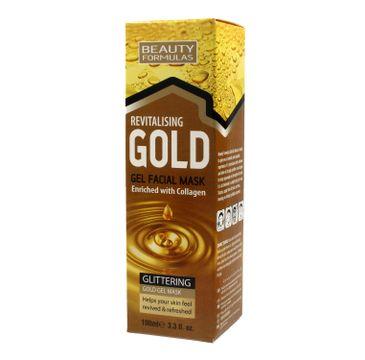 Beauty Formulas Gold Złota maseczka rewitalizująca na twarz 100 ml