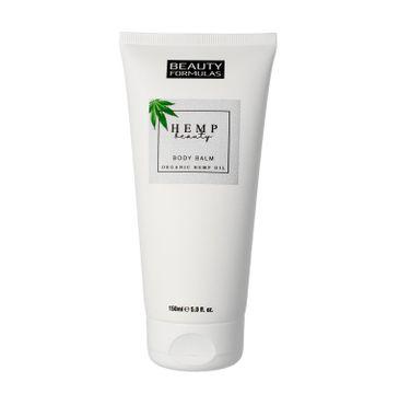 Beauty Formulas Hemp Beauty - balsam do ciała nawilżający (150 ml)