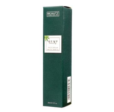 Beauty Formulas Hemp Beauty - serum do twarzy nawilżające (30 ml)