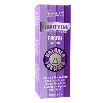 Beauty Formulas Natures Formulas peeling do twarzy oczyszczający 150 ml