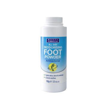 Beauty Formulas puder do stóp antybakteryjny 100 g