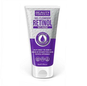 Beauty Formulas Retinol Anti-Ageing Gel Cleanser żel do mycia twarzy (150 ml)