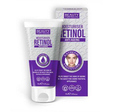 Beauty Formulas Retinol Anti-Ageing Moisturiser nawilżający krem do twarzy (75 ml)