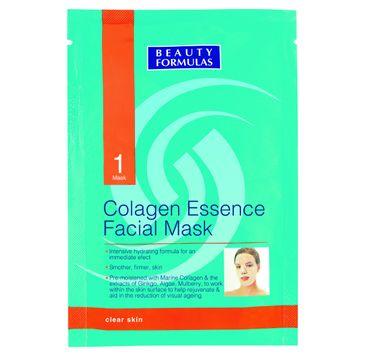 Beauty Formulas Skin Care maseczka do każdego rodzaju cery kolagenowa 15 ml
