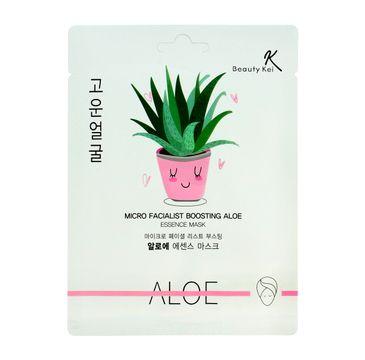 Beauty Kei Maseczka na płacie kojąco-nawilżająca Aloe 1 szt