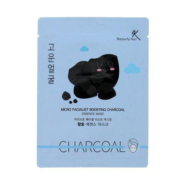 Beauty Kei Maseczka na płacie oczyszczająca Charcoal 1 szt