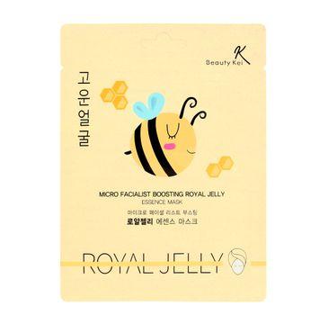 Beauty Kei Maseczka na płacie odżywcza Royal Jelly 1 szt