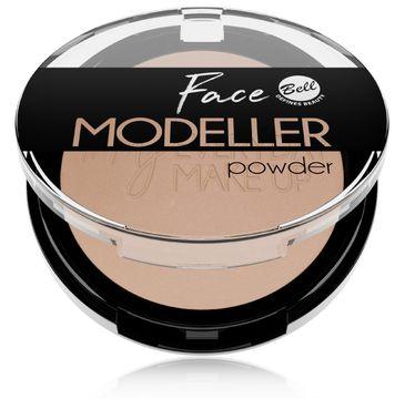 Bell – Face Modeller Bronzing powders puder modelujący owal twarzy 01 Coffee Time (1 szt.)