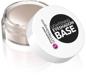 Bell Hypoallergenic baza pod cienie rozświetlająca Lithening Eyeshadow Base 1 szt.