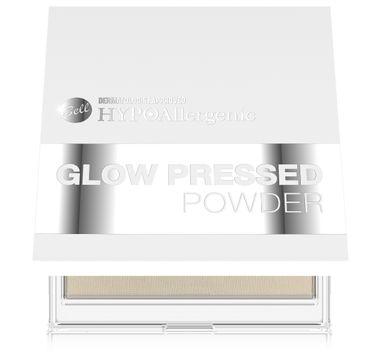 Bell Hypoallergenic Glow - Puder rozświetlający to twarzy nr 01 Natural 11 g