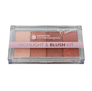 Bell Hypoallergenic Highlight & Blush Kit Zestaw rozświetlaczy i różu  20g