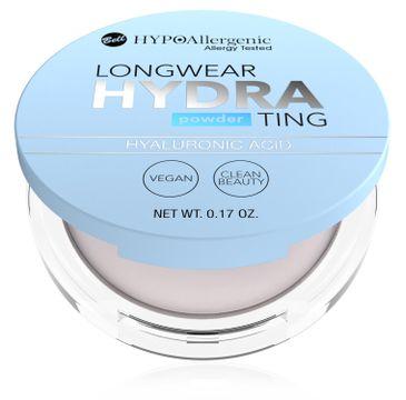Bell – HYPOAllergenic Longwear Hydrating puder z kwasem hialuronowym (1 szt.)